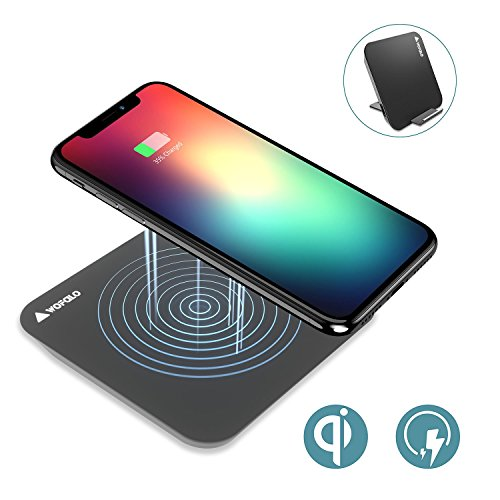 fast wireless charger f r iphone 8 iphone x wofalo 2 in. Black Bedroom Furniture Sets. Home Design Ideas